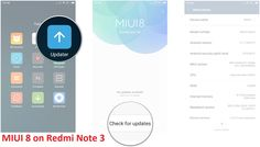 How to download MIUI 8 on Redmi Note 3