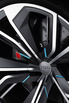 Audi Q8 Concept Wheel detail - from the gallery: Automotive Exteriors - Wheels
