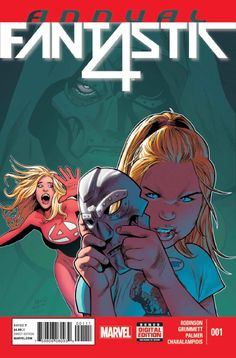 Fantastic Four Annual Vol. 6 # 1 by Greg Land & Jay Leisten