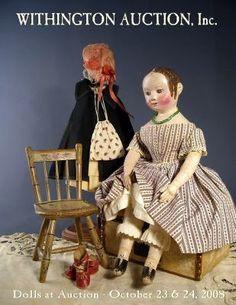 Gorgeous Antique Izannah Walker doll.