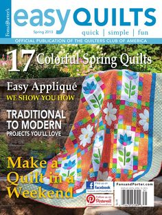 Easy Quilts Spring 2013 Magazine