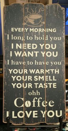 I love Coffee #coffee #muchlove Coffee Inspirations