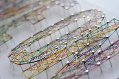 Holy String Art, Batman! 6 of the Coolest Thread Art Projects Ever « Math Craft