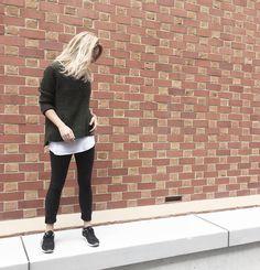 Spotted   Our Frank High-Low Jumper + Texas Jegging in Black #ootd #knitwear #streetstyle #metalicusaustralia #weekendwear #metalicusaustralia #love #instagood #personalstyle