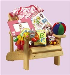 Mini Muskoka Chair - available for boy, or girl! Talk about CUTE! Nutcracker Sweet, Baby Size, Baby Essentials, Gift Baskets, Baby Gifts, Cute Babies, Personalized Gifts, Gift Ideas, Chair