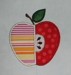 Sweet Apple Applique designs 3 sizes