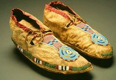 Native American Leather Moccasins | Native American Technology and Art