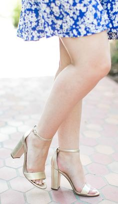 23faa6d56c9c1 Looking for the perfect pair of gold heels  The Sam Edelman Yaro sandals  are the