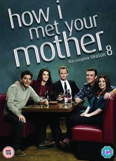 How I Met Your Mother! Season 8 DVD Cover