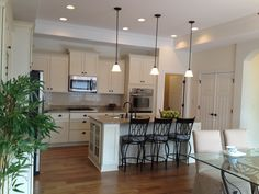 Mission Hills Palazzo model home kitchen...almost ready for viewing!