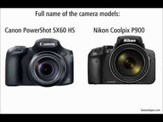 Nikon P900 vs Canon SX60 HS - YouTube