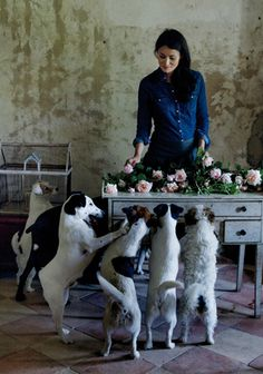 Mimi Thorisson's Picture-Perfect Dinner Party in France - Bon Appétit mimi lives my DREAM life <3