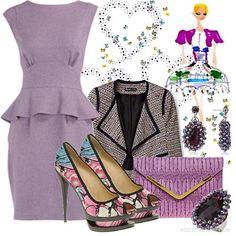 Peplum Dress   Women's Outfit   ASOS Fashion Finder