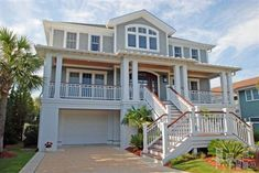 Waterfront Homes Wrightsville Beach Google Search Coastal House Plans
