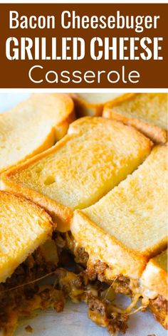 Bacon Cheeseburger Grilled Cheese Casserole. This awesome photo collections about Bacon Cheeseburger Grilled Cheese Casserole is available to download. We collect this best picture from internet and choose the best for you. Bacon Cheeseburger Grilled Cheese Casserole. So, if you want to get this amazing image about Bacon Cheeseburger Grilled Cheese Casserole, just click save button to save this images to your computer. Finally if you want to get new and the latest wallpaper related with…