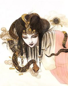 yoshitaka amano | His illustrations begin to be published in collections such as Maten ...