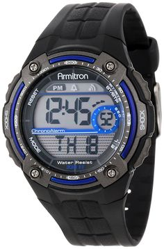 Armitron Sport Men's Sport Watch with Black Rubber Band >>> Click image for more details. (This is an Amazon Affiliate link and I receive a commission for the sales)
