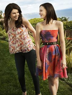 Alexis Bledel, Lauren Graham | Lauren: ''We are, like, the worst people to have a reunion interview because we don't remember anything. I mean, anything. People come up and they're
