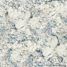 White Ice Granite  (Kitchen-Design-Ideas.org)