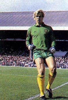 Norwich City goalkeeper Chris Woods in 1981.