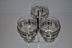 Mid Century Modern Condiment Set by THEHOUSENUT on Etsy, $12.65