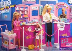 Barbie So Much To Do Post Office Playset (1995 Arcotoys, Mattel)