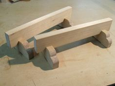 """Hone your woodworking skills while creating a useful shop tool by creating these simple, lovely, and very useful Japanese """"low horses."""""""