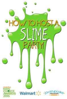 How to Host a Slime Party! | JavaCupcake.com #ReadySetSlime