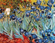 Vincent Van Gogh - Post Impressionism - Saint REMY - Les Iris