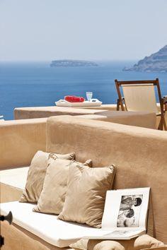 GREECE CHANNEL | Lovely New Entry in our Santorini Villa Portfolio. www.instylevillas.com