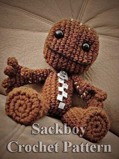 Sackboy Crochet Pattern by RichmondArt on Etsy, $4.99