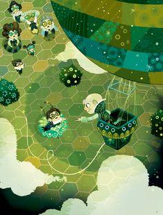 The Wonderful WIzard of Oz Lorena Alvarez Gomez Over The Rainbow, Daddy, Children's Book Illustration, Illustrations And Posters, Wizard Of Oz, Gravity Falls, Illustrators, Book Art, Fairy Tales