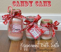 caned cookie mixes in a jar lables | For the 4th day of Christmas in a jar, we have Peppermint Candy Cane ...