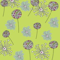 Helen Voice | Seed pods | Module 1 Designing Your Way | September 2015 class | The Art and Business of Surface Pattern Design | Make it in Design
