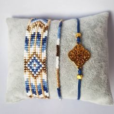 "45 aprecieri, 4 comentarii - by martina 4 u (@bymartina4u) pe Instagram: ""Keep calm and love the color blue #braceletes #armbandjes #handmadejewelry #jewelry #blue…"""