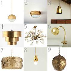 Brass pendant lights chandeliers flushmount lighting lampsplus brass lighting round up aloadofball Gallery