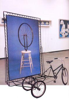 Obra de Nelson Leirner: Duchamp Bike, 2003