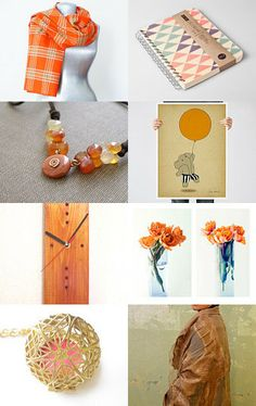 Orange You Glad by Gwen on Etsy--Pinned with TreasuryPin.com