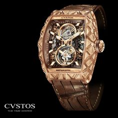 Boutique CVSTOS Geneva. Eiffel Tourbillon. Watches, Watchmakers Geneva