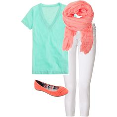 Spring outfit:)