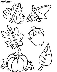 Printable Leaf Stencils | Topic: Thanksgiving Leaf Garland ...