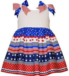 Bonnie Jean Stars and Stripes Forever