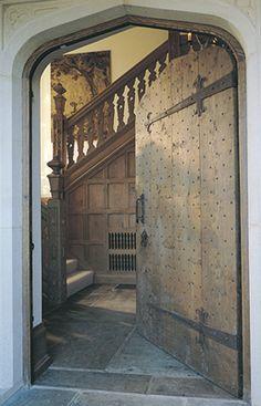 Tudor Arch Exterior Door in English Oak - Doors Tudor House, My House, House Front, Exterior Design, Interior And Exterior, Estilo Tudor, Theoule Sur Mer, English House, English Tudor