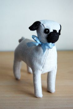 PugMADE TO ORDER by sian on Etsy, $50.00