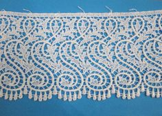 "Swiss Venise White Edging, 3 1/4"" Wide (1 1/2 Yds. Remaining) (8-14-16)"