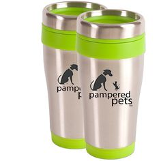 Pampered Pets Travel Tumbler, Lime Green, * Check this awesome product by going to the link at the image. (This is an affiliate link and I receive a commission for the sales) Memorial Stones, Cat Memorial, Pet Dogs, Pets, Pet Travel, Dog Accessories, Animal Rescue, Pet Supplies, Tumbler