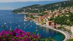 A glimpse of the French Riviera's coastal towns—like Villefranche-sur-Mer, above—makes it clear why the region has such a hold on Hollywood stars and high society