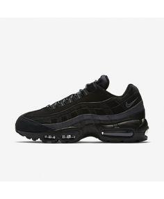 more photos 89666 ebc87 Nike Air Max 95 Essential Black Dark Grey Mens Shoes Outlet