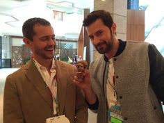 Tiny @BryanFuller is very witty and always keeps the cast entertained. #EatTheCon #Hannibal @NBCHannibal @RCArmitage