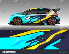 Graphic abstract stripe racing background kit designs for wrap vehicle, race car, rally, adventure and livery 3d Racing, Car Paint Jobs, Fun Events, Car Painting, Car Wrap, Radio Control, Rc Cars, Paint Designs, Touring